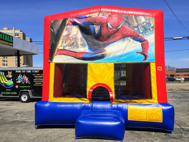 Spider Man Large Bounce House