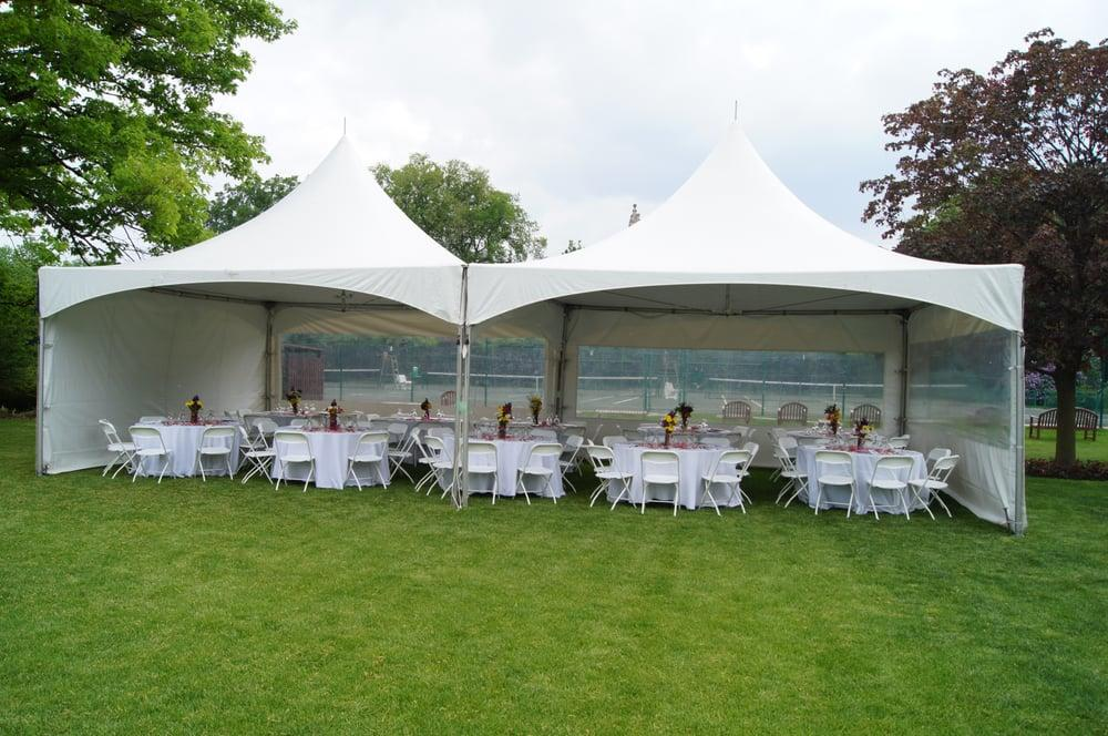 The frame tent can be installed on just about any level surface such as grass concrete asphalt and dirt. Call and book our BRAND NEW 2018 MARQUEE TENT ... & 20 x 40 High Peak Frame Tent Rental Bounce House u0026 Party Rentals ...