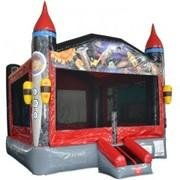 Deluxe Rocket Bounce House