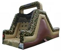 30ft Camo Climb and Slide