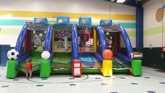 4 Station Inflatable Sports Game
