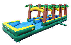 Tropical Double Lane Slip N Slide