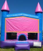 13x13 Pink Castle Bounce House