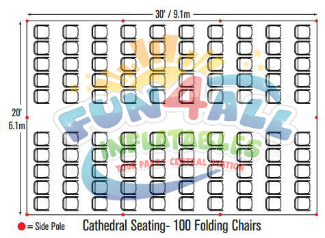 Wedding & Event Tent Rental Seating Chart