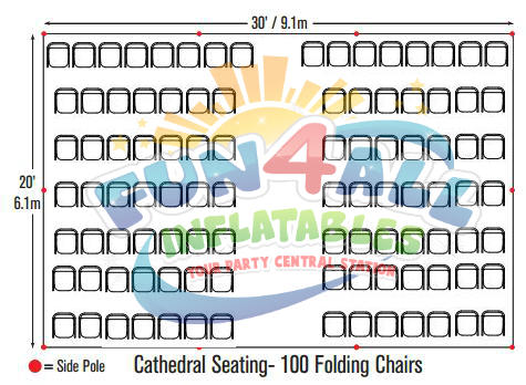 Tent Seating Chart for Wedding & Events