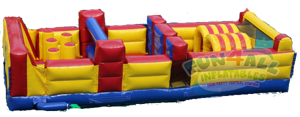 28' iinflatable obstacle course rental fort walton beach