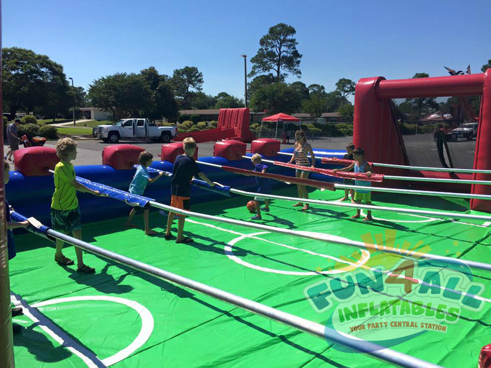 inflatable foosball rentals Florida