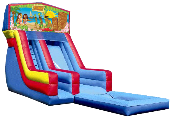 navarre inflatable water slide luau