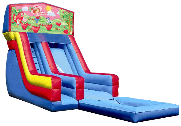 Navarre Inflatable Water Slide Shortcake