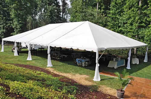 30 x 60 Frame Tent & 30 x 60 Tent Rentals Fort Walton Beach FL | Panhandle Events