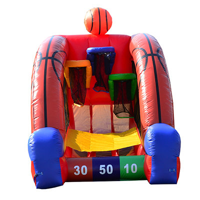 Basketball Challenge with inflatable