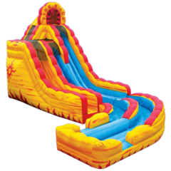 20' Fire n Ice Water Slide