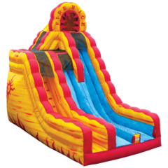 20 ft Fire n Ice Dry Slide