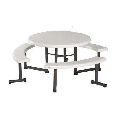 Round Table w/ Benches