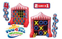 Tic Tac Toe & 4-Spot Combo Game