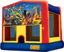 Robo Cars Bounce House