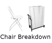 Beach Chair Breakdown Fee - Each Chair