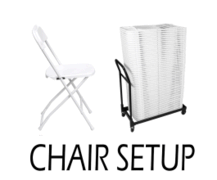 Chair Setup Fee - Each Chair
