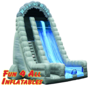 27 ft Roaring River Dry Slide