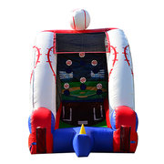Baseball Challenge with inflatable