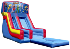 Power Rangers Water Slide
