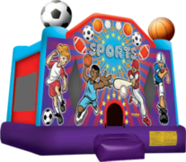 1. Sports II Bounce House - Customer Pickup