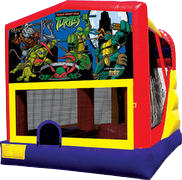 Ninja Turtles Slide Combo