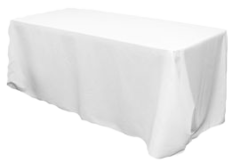 Table Linens White - 8