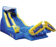 19' Wipeout Water Slide