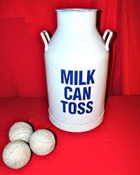 Milk canToss