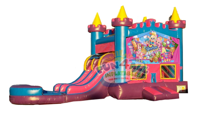 Shopkins Queens Dual Lane Water Combo