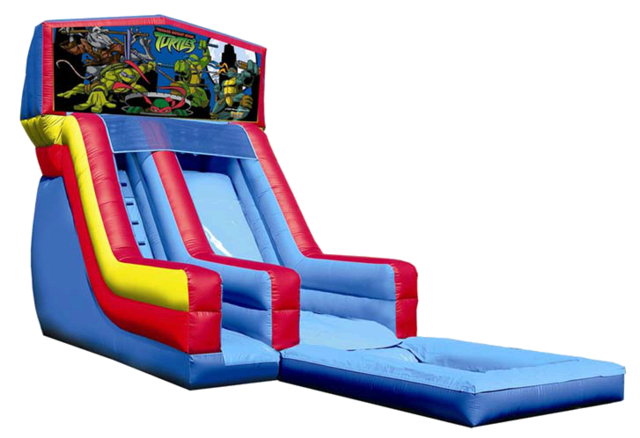 Ninja Turtles Water Slide