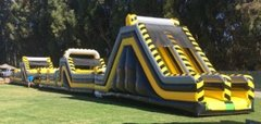 110 Foot Obstacle Course