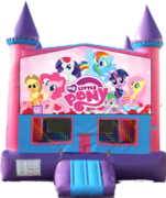 Pink Castle Little Pony