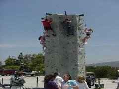 25 Foot High Rock Wall