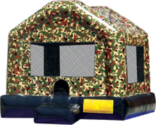 Large Military Bounce House 15x15