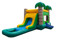 Tropical Bounce and Slide - Wet