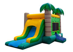 Tropical Bounce and Slide