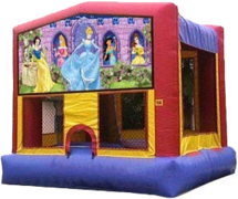 Princess Module Bounce House