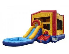Dry- Small Pool Combo Bounce House