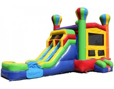 Dry- Balloon Dual Combo Bounce House
