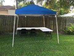 Tent with 1 Table and 6 Chairs