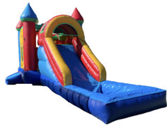 13ft x 25ft Multi-Color Bounce House