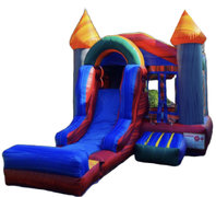13ft x 20ft Swirl Front Slide Bounce House