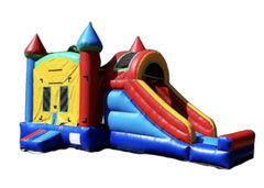13ft x 22ft Multi-Color Big slide Bounce House