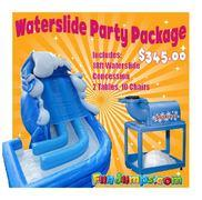 Water Slide Party Package