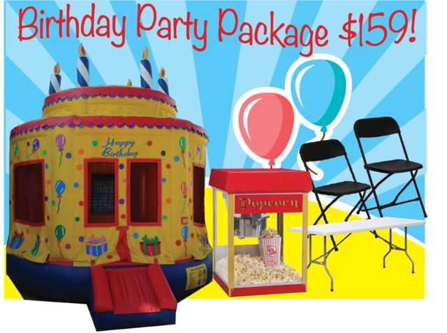 Birthday Party Pkg A