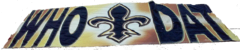 Who Dat Banner
