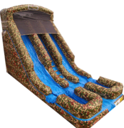 20 ft dual lane camo slide 91315 DRY