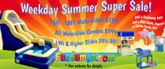 Waterslide Summer Sale